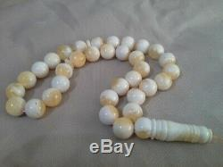 51 gm natural Baltic amber rosary from Poland 51