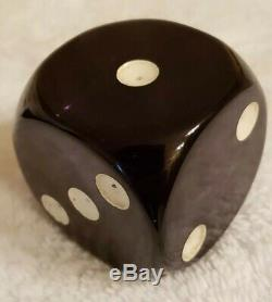 Cherry Amber Bakelite Dice 145g Color-Changing Purple Blue Green Faturan XXL
