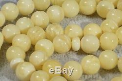 High quality beads Baltic amber necklace rosary 26 g. ISLAMIC PRAYER AMBER BEADS