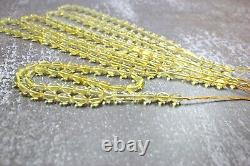 Lot of 5 Pieces Islamic 33 Prayer Beads Wholesale Tasbih Misbaha Olive Lemon